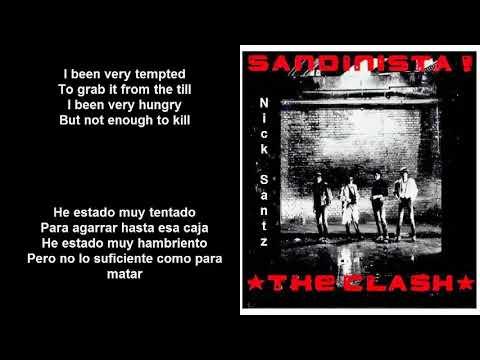 The Clash -Somebody got murdered (Lyrics) (Subtitulos en español)