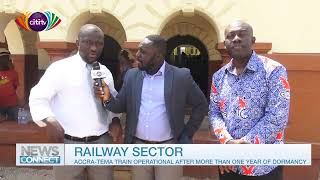 News Connect: Accra-Tema shuttle train back on track after a long time
