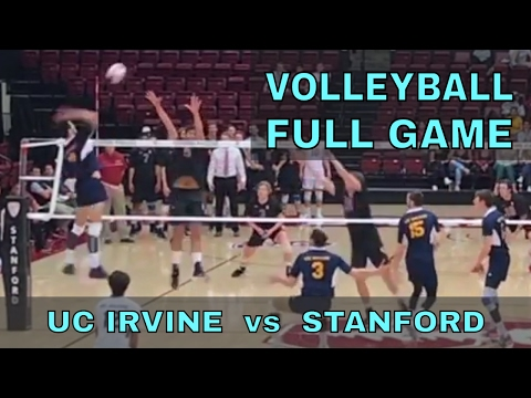 UCI vs Stanford FULL GAME Men's Volleyball (3/31/17)