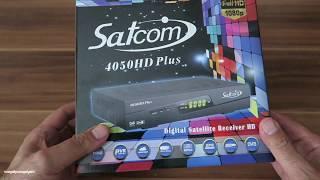 Спутниковый Тюнер Satcom 4050 HD Plus.Обзор и Настройка.