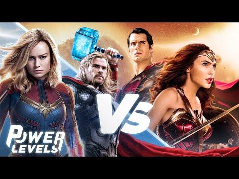 Marvel vs DC   Power Levels