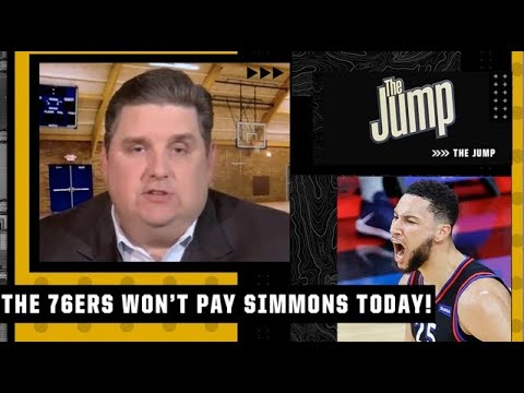 The 76ers will not pay Ben Simmons $8.25M today - Brian Windhorst   The Jump