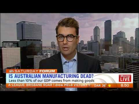 Breheny: The Future of Australia's Manufacturing Industry