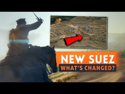 ► NEW SUEZ: WHAT'S CHANGED? - Battlefield 1 (New Flag, More Vehicles & Behemoth Fix)