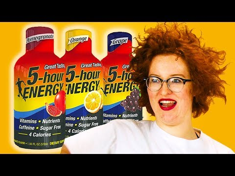 People Try 5-hour Energy For The First