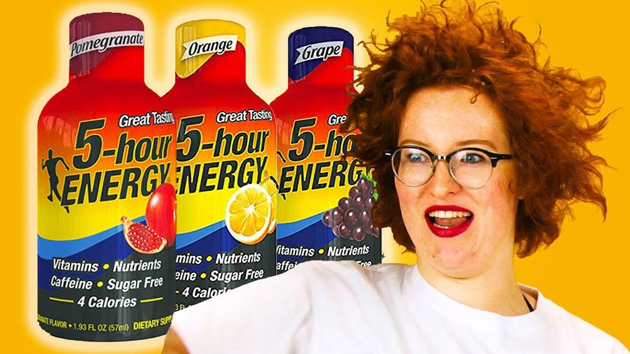 5 hour energy redhead