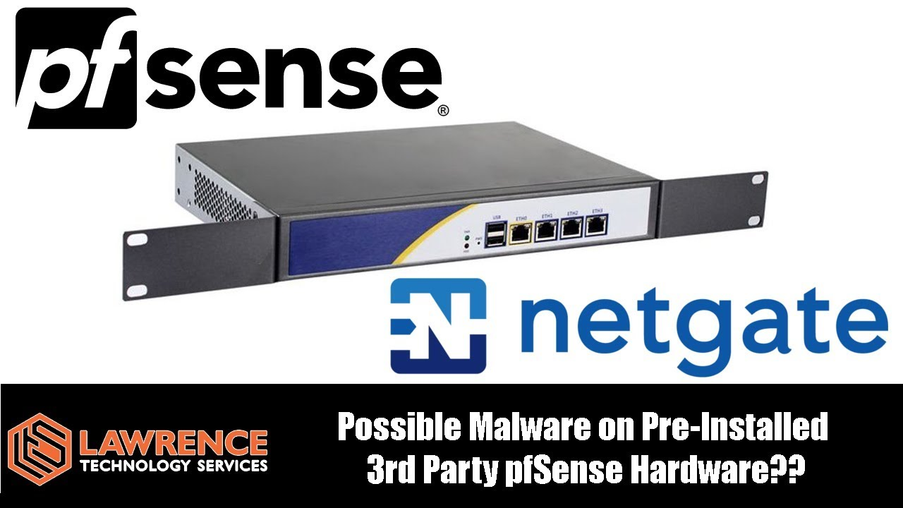 Possible Malware on Pre-Installed 3rd Party pfSense Hardware