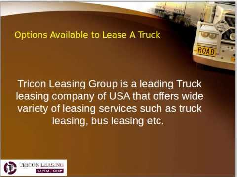 Tricon Leasing And Financing Company