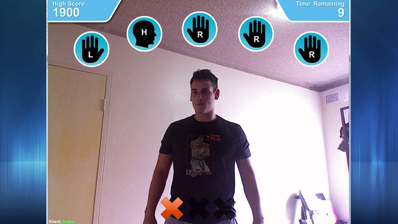 Getting started with Motion Tracking using the Kinect Sensor