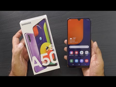 Samsung Galaxy A50s Unboxing Overview A Camera Smartphone