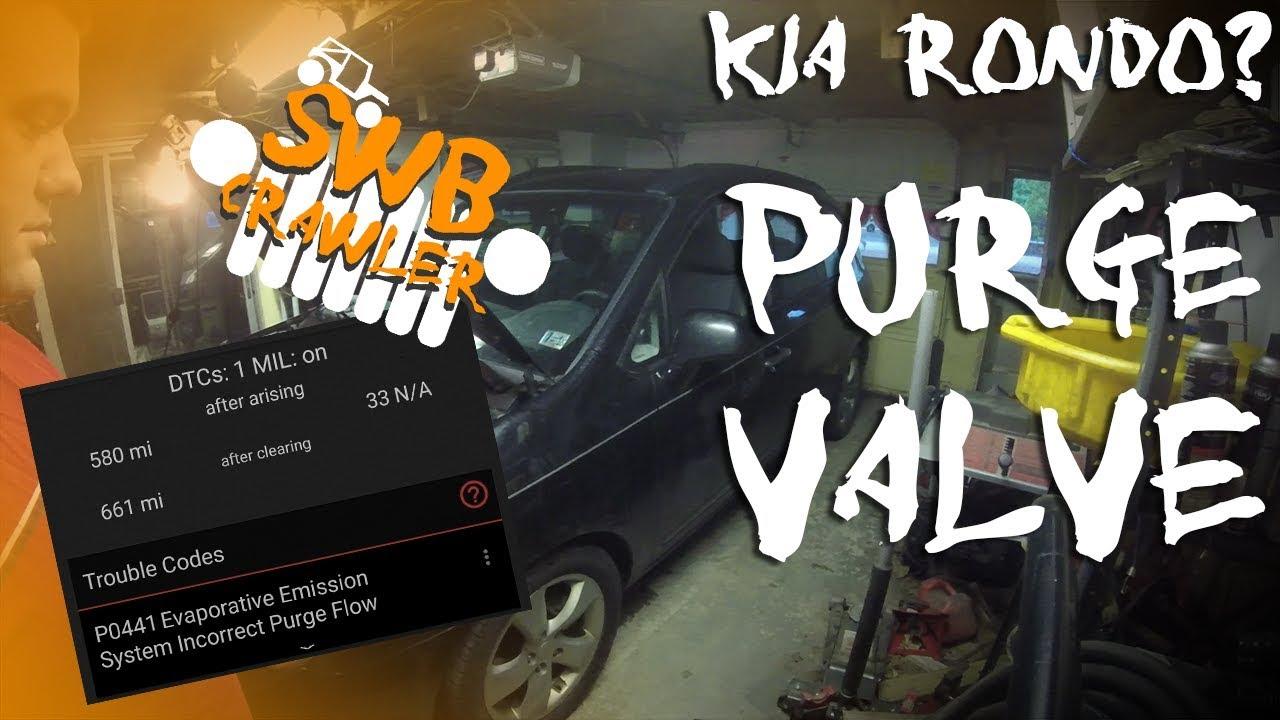 2008 Kia Rondo Evap Purge Valve install - P0441