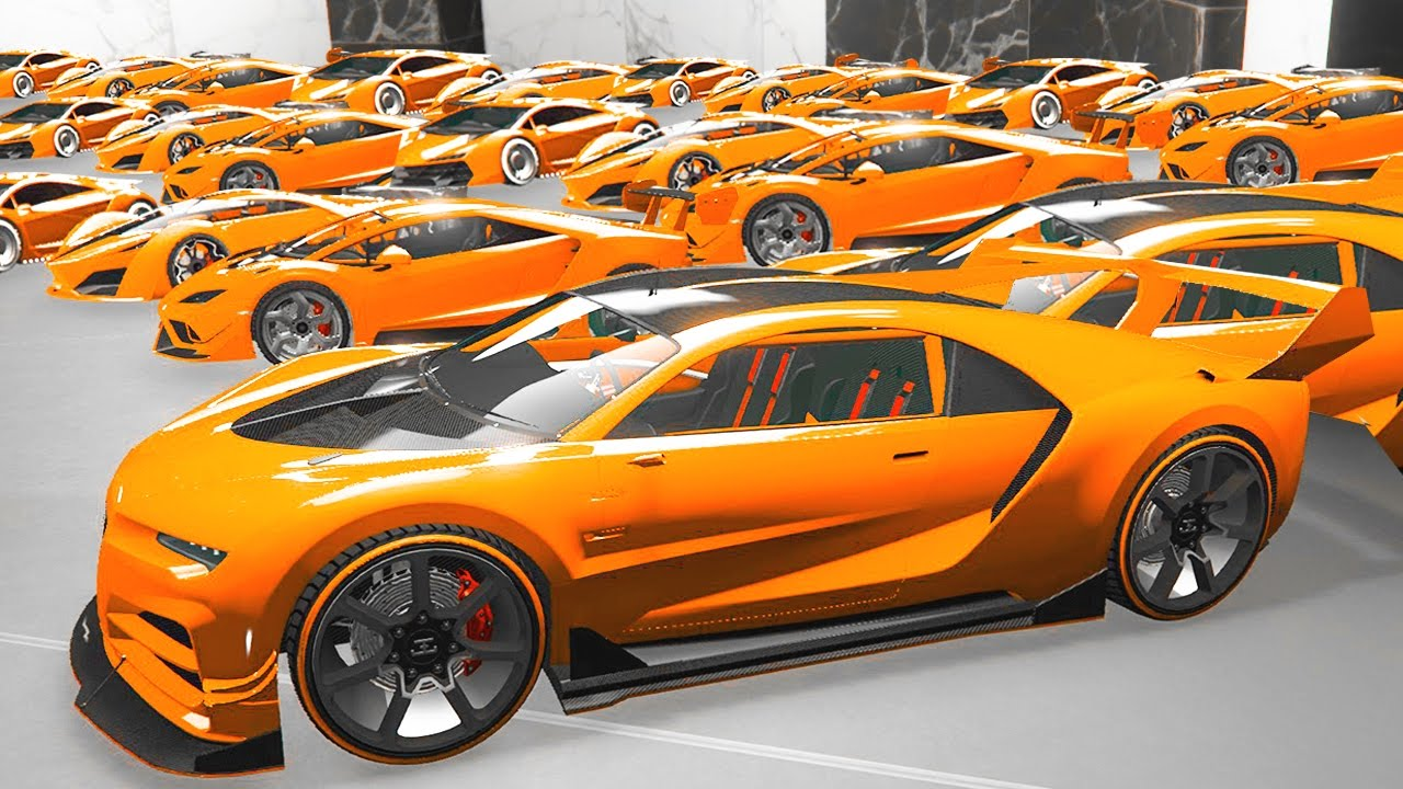 $100,000,000 WORLD ۪S MOST EXPENSIVE CAR GARAGE! (GTA 5 Funny Moments)    YouTube
