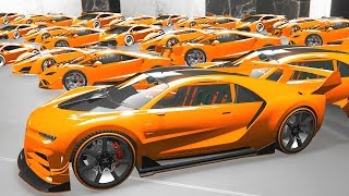 $100,000,000 WORLD�۪S MOST EXPENSIVE CAR GARAGE! (GTA 5 Funny Moments)