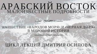 25 ноября 2016 Цикл лекций Дмитрия Осипова. Лекция 3