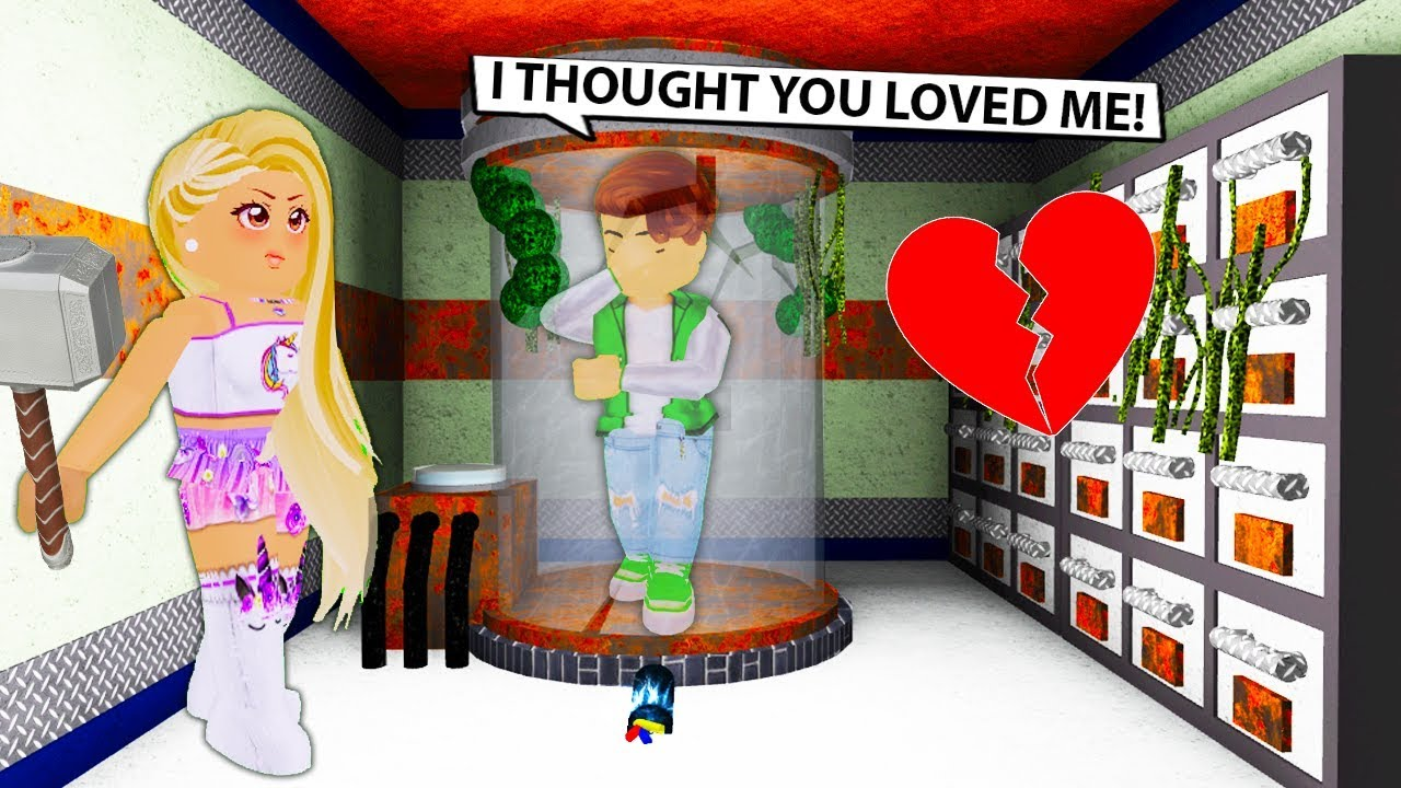 Capturing My Boyfriend In Flee The Facility Roblox Youtube