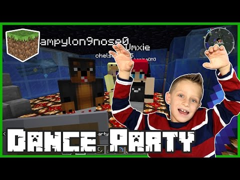 Minecraft Night Club Dance Party