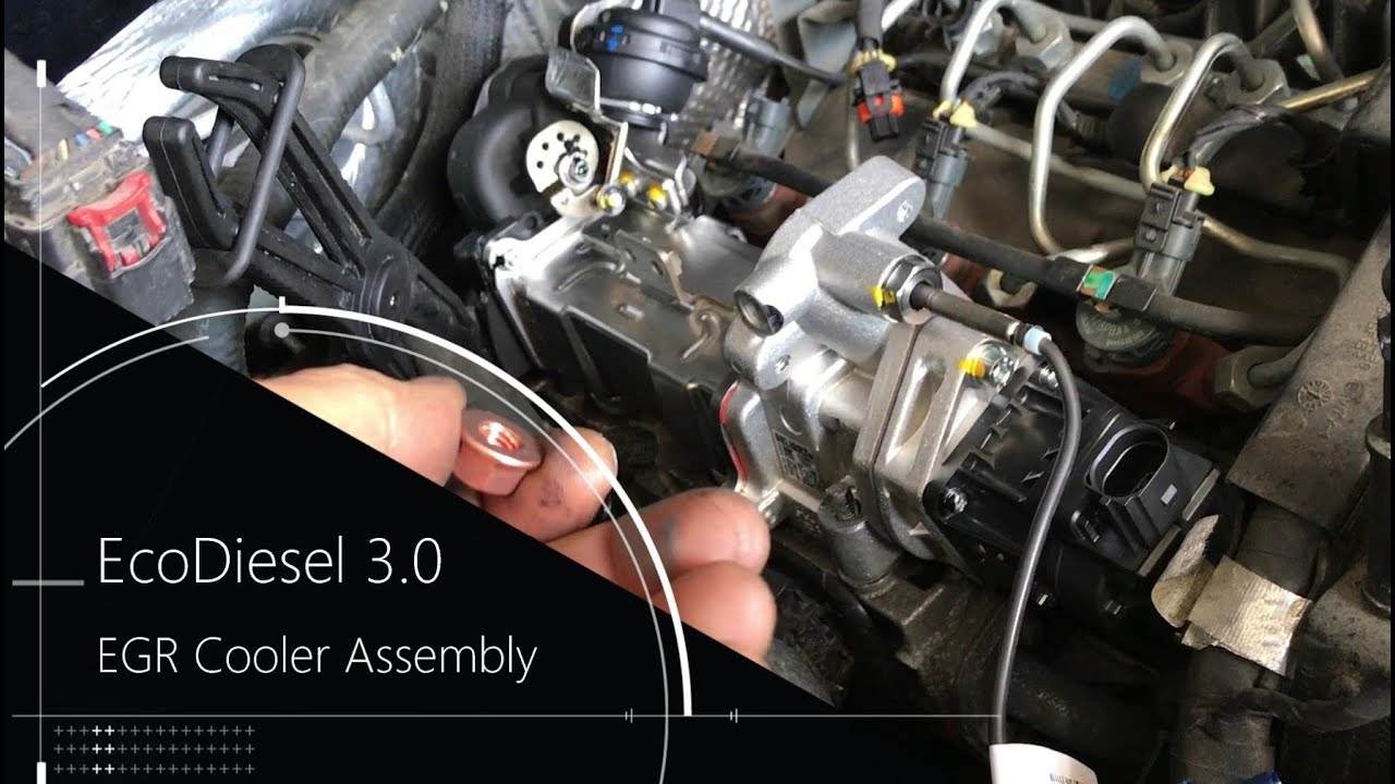 Ecodiesel 3 0 Egr Cooler Replacement Ram Jeep Youtube