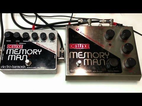 Electro Harmonix Deluxe Memory Man XO vs Deluxe Memory Man Big Box Classic