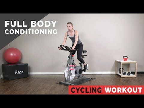 Full Body Conditioning Cycle Workout to Target & Tone Upper Body