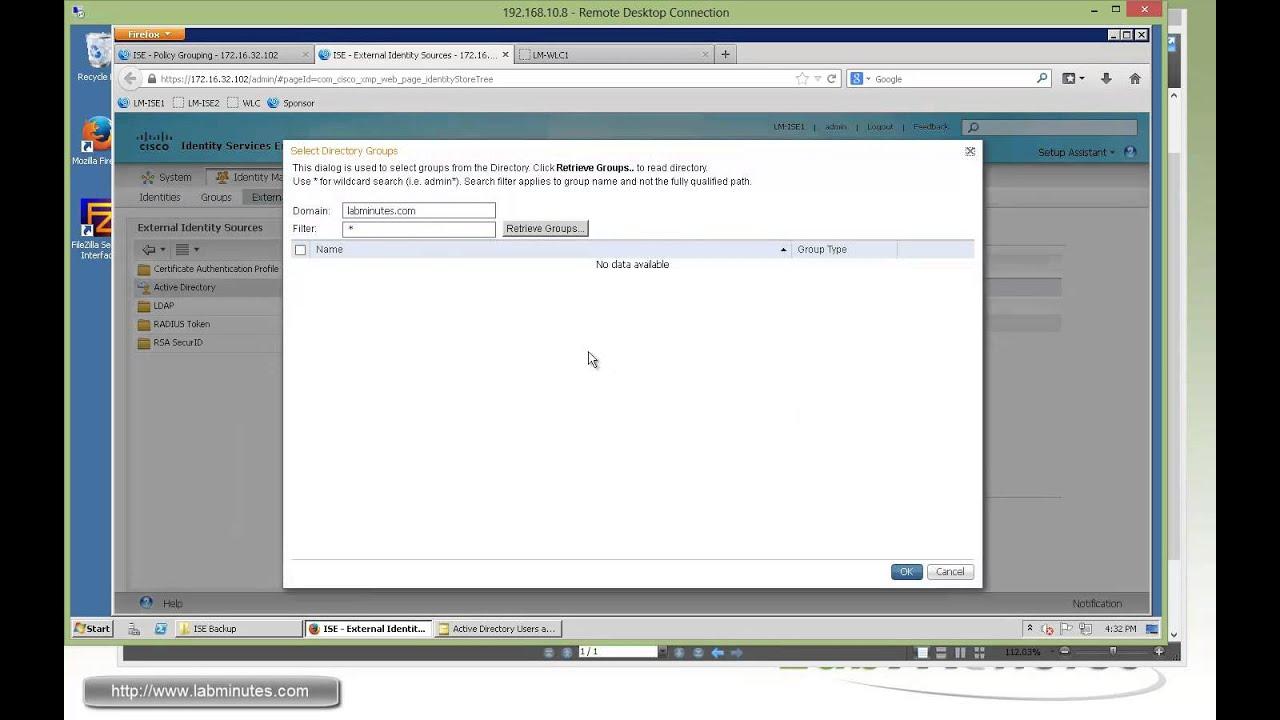 LabMinutes# SEC0112 - Cisco ISE 1 2 Wireless 802 1X Authorization with  FlexConnect (Part 1)