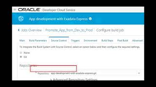 Automate Development Lifecycle (Exadata Express) video thumbnail