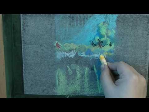 Pastel Painting パステル画 風...