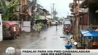 TV Patrol Tacloban - June 26, 2015