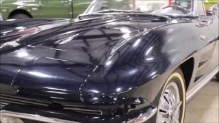 1964 Chevy Corvette Blue