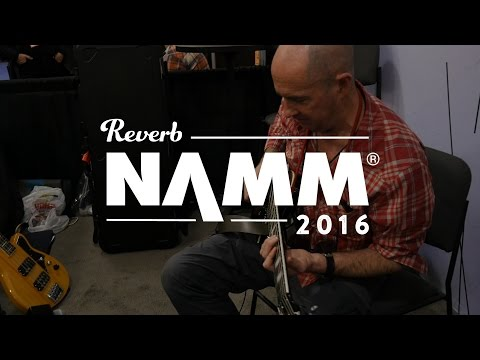 Henry Kaiser for Red Panda at The Winter NAMM Show 2016