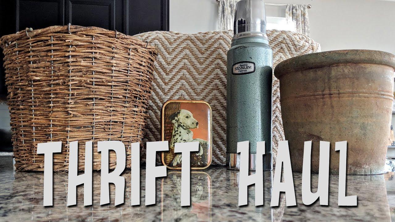 Home decor thrift haul 2018