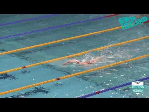 2018 Irish Open Championships - Male 400m Freestyle Open Final