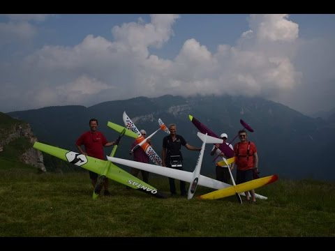 Slope Flying At Martinella/Folgaria