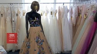 Як на Буковині шиють весільні сукні для всього світу