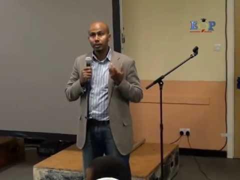 Open Day, Eritrean Future Professionals, Ali Ahmed Issa Part 4