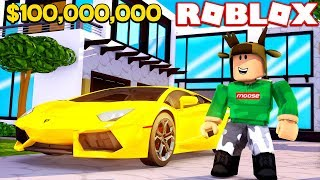 BUILDING THE MOST EXPENSIVE MANSION IN ROBLOX! (ROBLOX MANSION SIMULATOR)