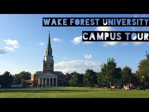 Wake Forest University Campus Tour