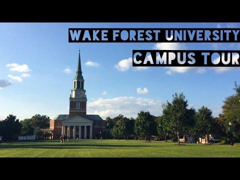 Wake Forest University Campus Tour