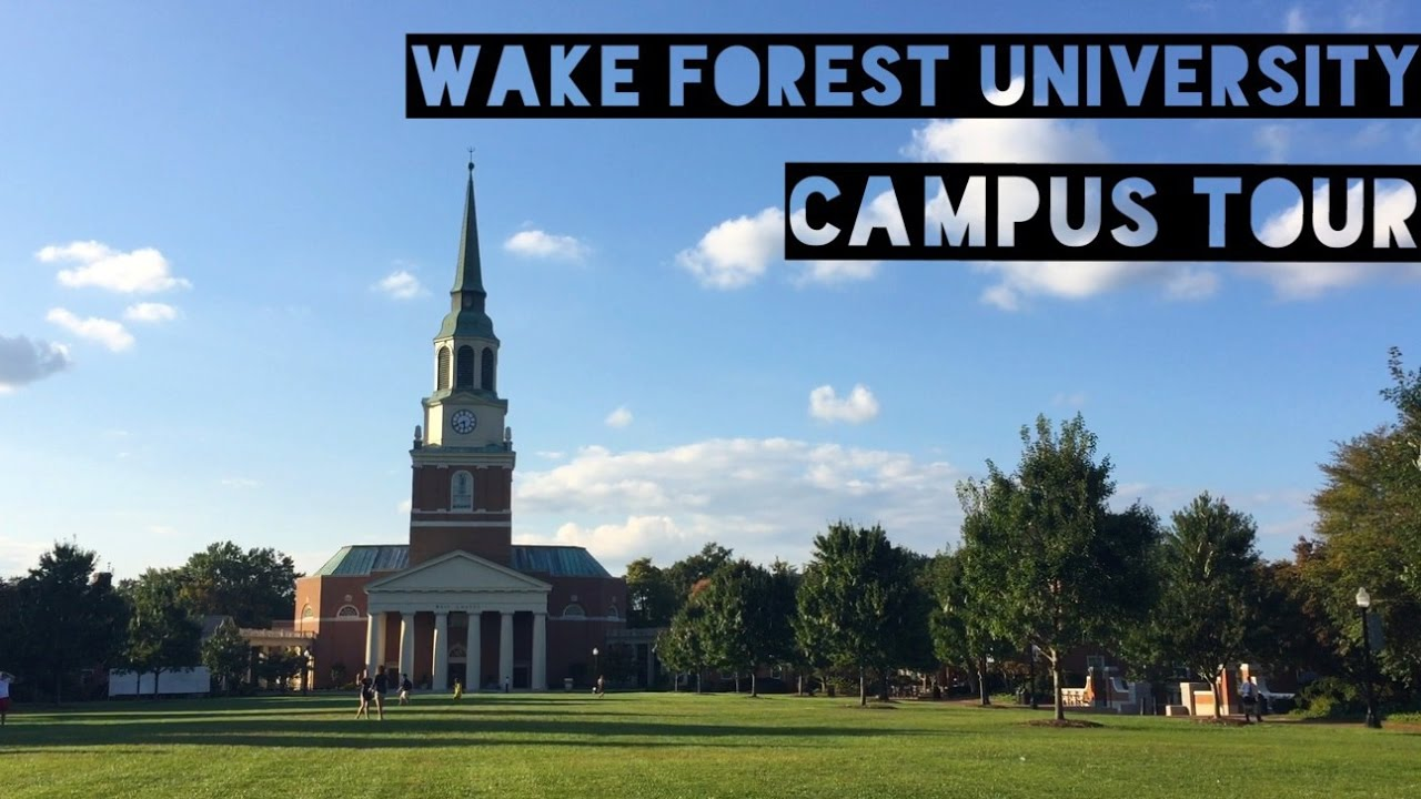 Wake Forest Campus Tour