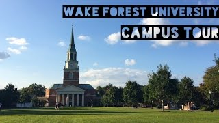 Campus Tour|Wake Forest University|欢迎参观我的大学|WFU