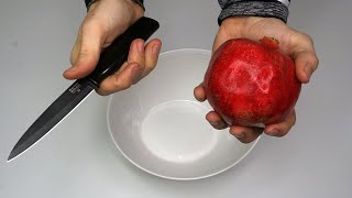 How To Peel a Pomegŗanate The Fast Way