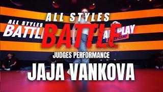 Jaja Vankova | Judges Showcase | All Styles Battle |  Fair Play Dance Camp 2019