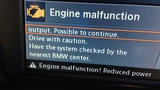2009 BMW 335i E92 N54 Engine Malfunction Reduced Power