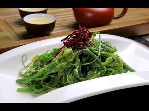 爆炒龙须菜 Stir-fried Asparagus