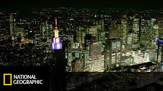 Japonia - krajobraz niezwykły: Największe megalopolis na świecie