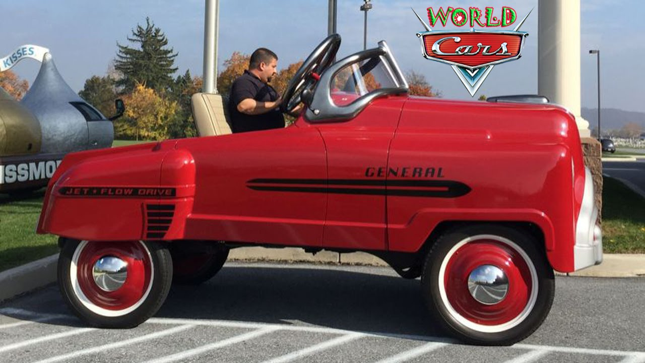 Adult Pedal Car: Adult-Sized Pedal Car Proves You're Never Too Old To Be A