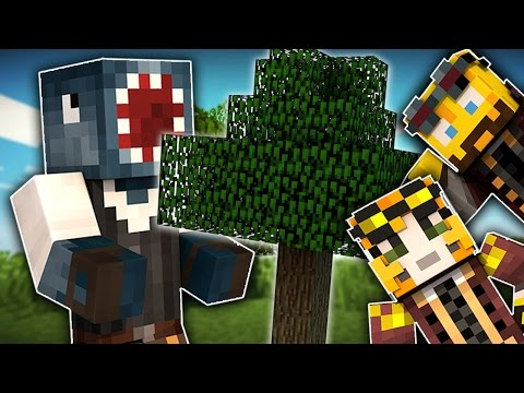 Minecraft - TIME TRAVELLERS! - MY FIRST TREE! #5 W/Stamps & Ash!