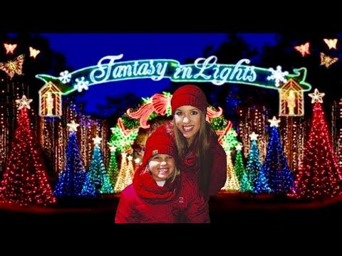 CHRISTMAS LIGHTS AT CALLAWAY GARDENS || Fantasy In Lights || Winter Vacation 2018 || Harley Loper
