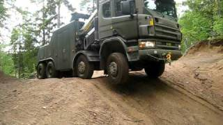 Swedish Army Tow Truck