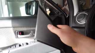 how to mount and pick tweeter and crossover over locations and adjusting in car