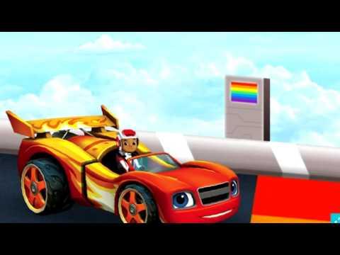 Вспыш и чудо машинки Новая серия Гонки в небесах Вспыш играть онлайн Мультики ютуб #blaze #cars